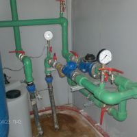 Ūdens skaitītāja uzstādīšana ūdens attīrīšanas stacijā
